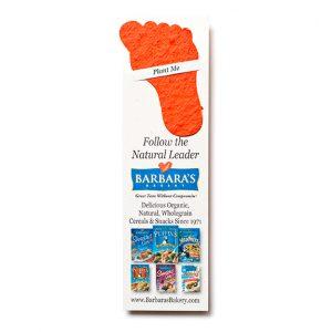 Seed Paper Shape Bookmark pb1-foot