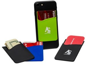Silicone phone wallet Item SPW1