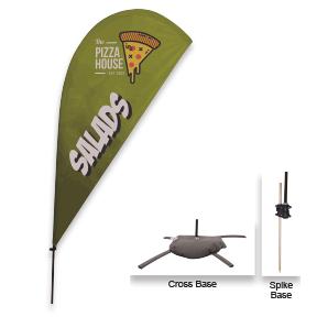 Feather flag kit Item B191611